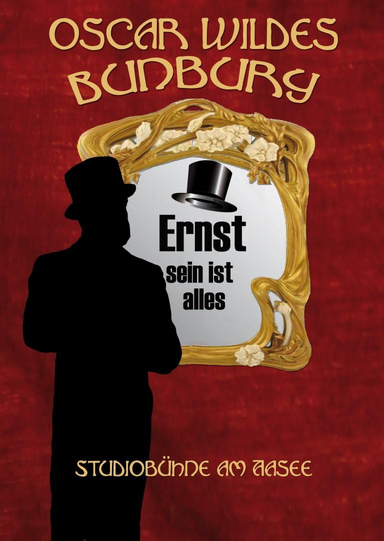 """Wir präsentieren Oscar Wildes """"Bunbury! auf der Studiobühne Münster."""